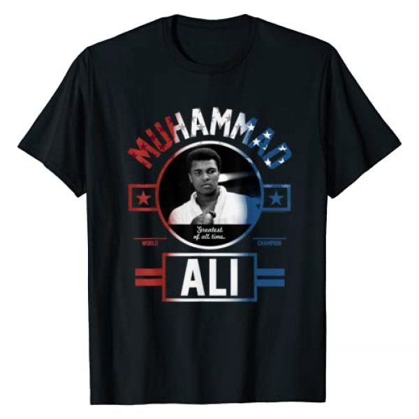 Muhammad Ali Graphic Tshirt 1 All Americana T-shirt
