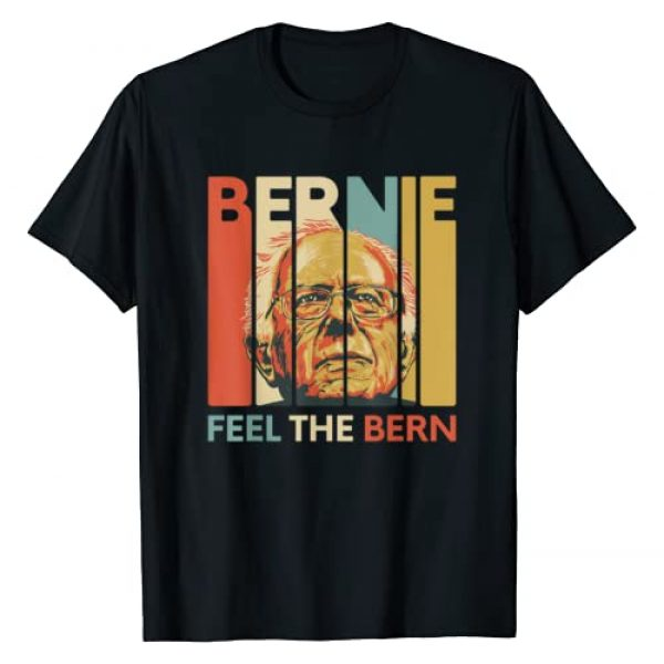 Bernie Sanders for President 2020 Campaign Graphic Tshirt 1 Vintage Bernie Sanders President Feel The Bern 2020 T-Shirt