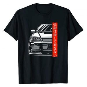 Automotive Apparel 1 Graphic Tshirt 1 Automotive JDM Legend Tuning Car T-Shirt 34 Japan