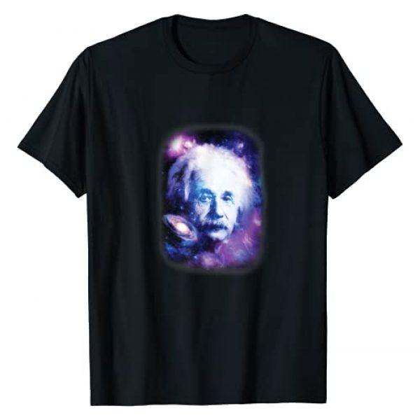 Albert Einstein Graphic Tshirt 1 Galaxy Theory Of Relativity T-Shirt