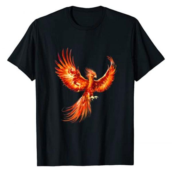 PHOENIX VITAL LIFE Graphic Tshirt 1 Rising Phoenix Fire Fenix Inspirational Fantasy Gift T-Shirt