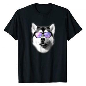 Siberian Husky T Shirt Gifts Graphic Tshirt 1 Cool Siberian Husky T Shirt Gift for Men Women Boys & Girls