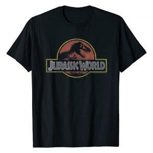 Jurassic World Graphic Tshirt 1 Classic Retro T-Rex Logo Graphic T-Shirt