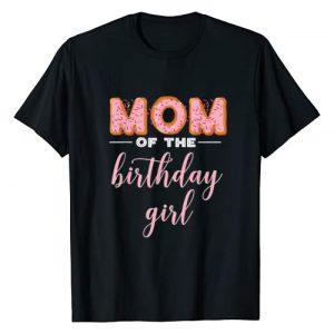 "Donut Party T-Shirts OHM Graphic Tshirt 1 ""Mom of the Birthday Girl""- Family Donut Birthday Shirt"
