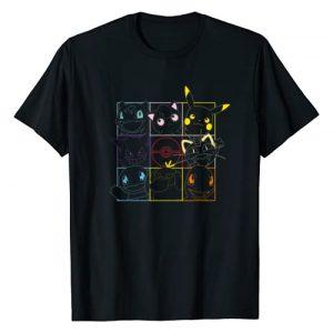Pokemon Graphic Tshirt 1 Grid T-Shirt