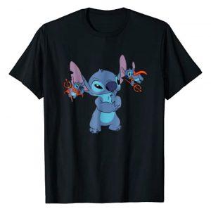 Disney Graphic Tshirt 1 Lilo and Stitch All Bad T-shirt