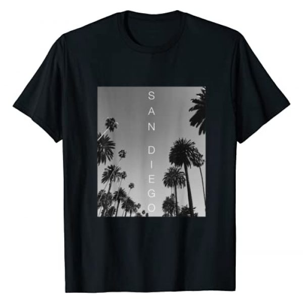 San Diego California Clothing Company By Design Graphic Tshirt 1 San Diego Shirts Men Women Kids Vacation Souvenir Gifts T-Shirt