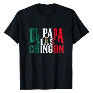 TapTee Cool Graphic Tshirt 1 El Papa Mas Chingon - Funny Spanish Dad T-Shirt
