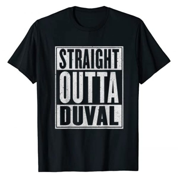Proud Duval Gift Idea Men Women Kids Graphic Tshirt 1 Straight Outta Duval Gift Funny USA Traveler T-Shirt