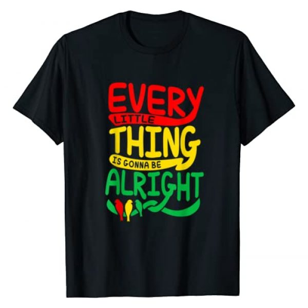 Every Little Thing Apparel Graphic Tshirt 1 Every Little Thing Is Gonna Be Alright Bird T-Shirt