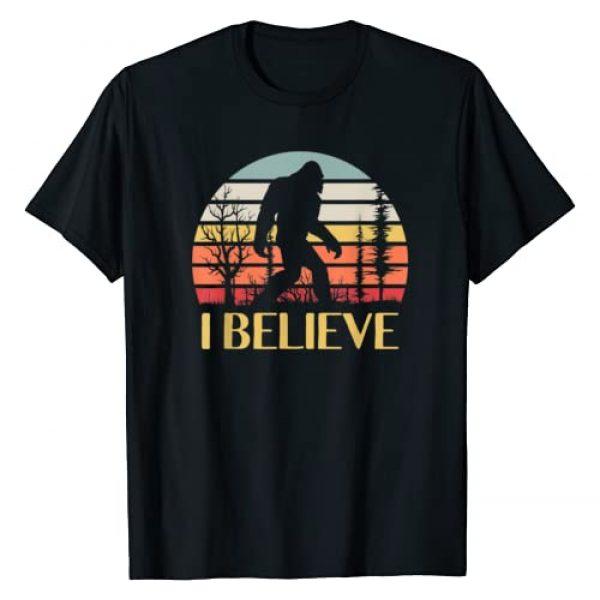 Believe Bigfoot I Believe in Bigfoot Gifts Graphic Tshirt 1 Believe Bigfoot I Believe in Bigfoot Gifts T-Shirt