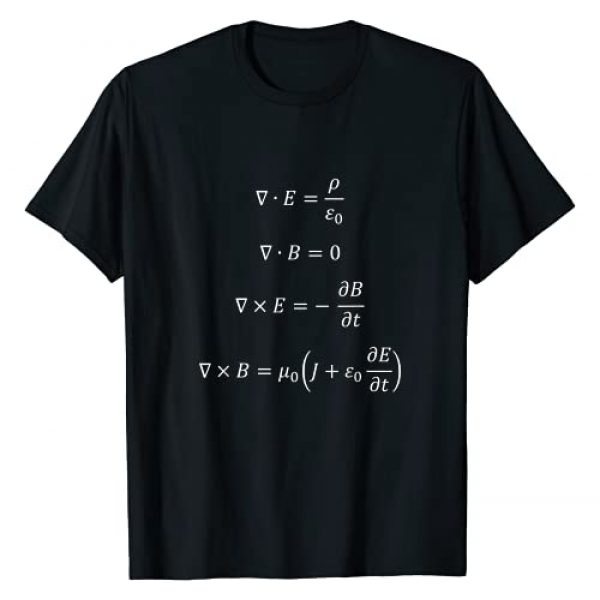 PhonyNerd Graphic Tshirt 1 Perfect gift for nerds - Maxwell's equations T-Shirt