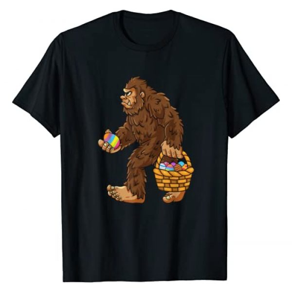 Mr Ben Easter Graphic Tshirt 1 Bigfoot Egg Easter Day Boys Girls Kids Funny Sasquatch T-Shirt