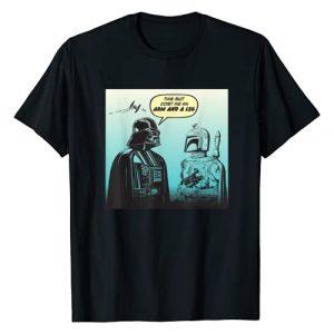 Star Wars Graphic Tshirt 1 Funny Darth Vader and Boba Fett Comic T-Shirt