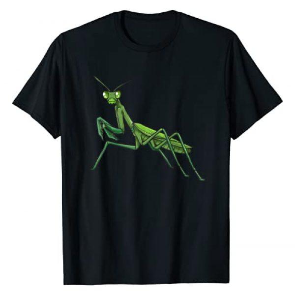 The Praying Mantis design Selection Company Graphic Tshirt 1 Praying Mantis T-Shirt