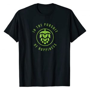 In The Pursuit of Hoppiness Shirt Graphic Tshirt 1 / IPA Craft Beer T-Shirt