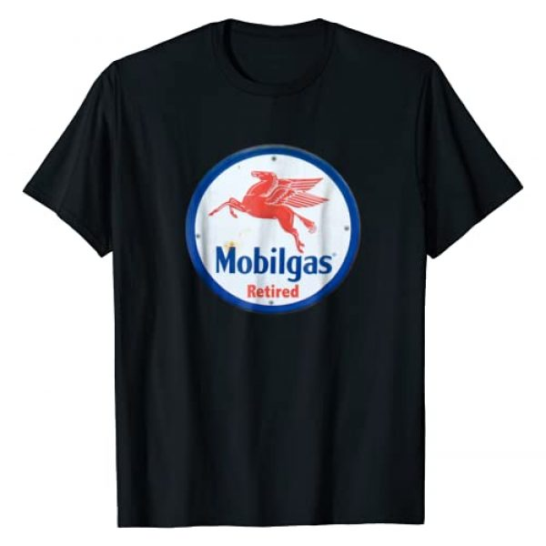 MOBIL GAS STATION SIGN RETIRED T-SHIRTS Graphic Tshirt 1 VINTAGE RETRO MOBIL GAS SIGN RETIRED T-SHIRT MOBILEGAS