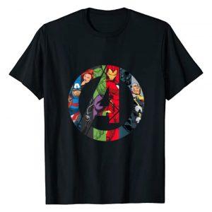Marvel Graphic Tshirt 1 Avengers A Logo T-Shirt