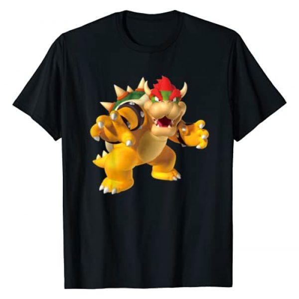 SUPER MARIO Graphic Tshirt 1 Bowser 3D Poster T-Shirt