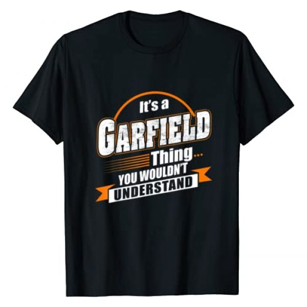 GARFIELD Named Graphic Tshirt 1 Best Gift For GARFIELD - GARFIELD Named T-Shirt