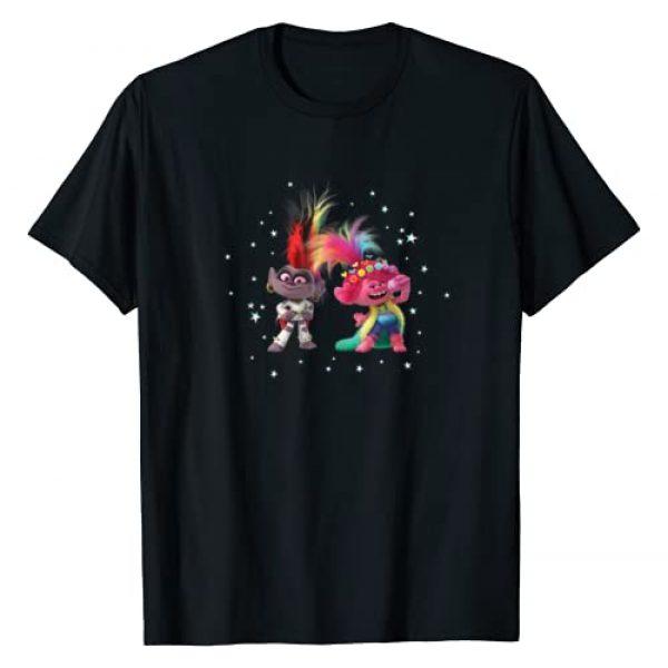 DreamWorks Trolls Graphic Tshirt 1 Trolls World Tour Barb and Poppy T-Shirt