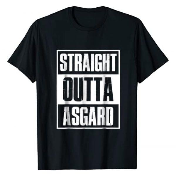 Straight Outta Asgard Graphic Tshirt 1 Birthday Gift Funny t shirt
