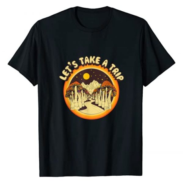 VHmoon Graphic Tshirt 1 Magic Mushroom Trippy Hippie T-Shirt