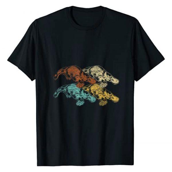 Platypus Shirts Graphic Tshirt 1 Retro Australian Animals Platypus T-Shirt