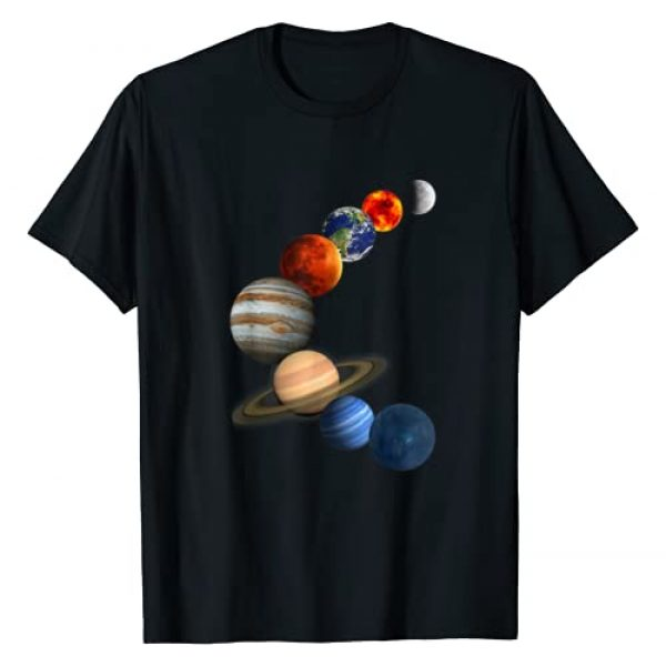 Solar System Tee Graphic Tshirt 1 Solar System T shirt The planets in our galaxy