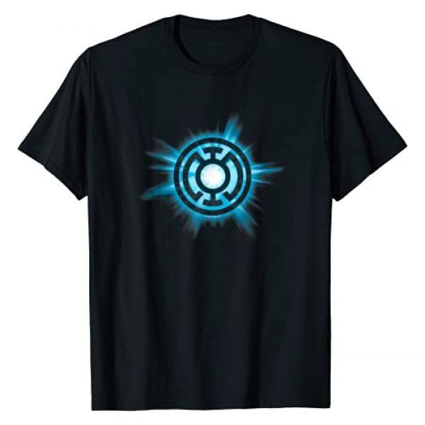 DC Comics Graphic Tshirt 1 Green Lantern Blue Glow T Shirt