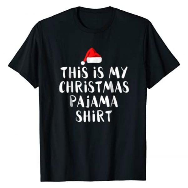 This Is My Christmas Pajama Shirt Graphic Tshirt 1 Funny Christmas T Shirts