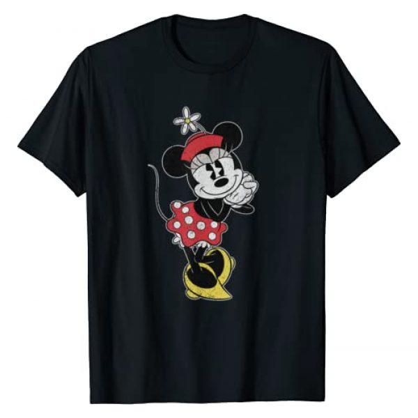 Disney Graphic Tshirt 1 Vintage Minnie Mouse Sweetheart Pose T-Shirt