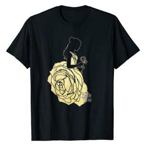 Disney Graphic Tshirt 1 Beauty & The Beast Belle Golden Dress Graphic T-Shirt
