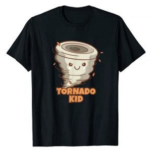 Tornado Kid Boys Girls Shirt Graphic Tshirt 1 Cute Funny Tornado Kids Active Toddlers Boys Girls T-Shirt T-Shirt