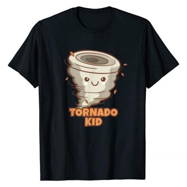 Tornado Kid Boys Girls Shirt Graphic Tshirt 1 Cute Funny Tornado Kids Active Toddlers Boys Girls T-Shirt T-Shirt