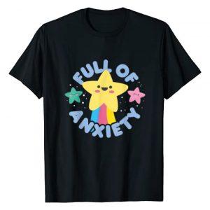 Kawaii Cute Tee Co Graphic Tshirt 1 Cute Kawaii Kawaii Goth Kawaii Gift Pastel Goth Anxiety T-Shirt