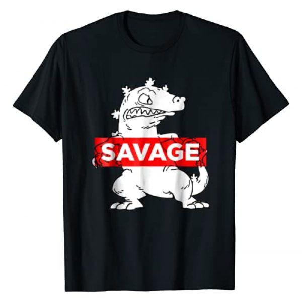 Nickelodeon Graphic Tshirt 1 Reptar Savage Graphic T-Shirt