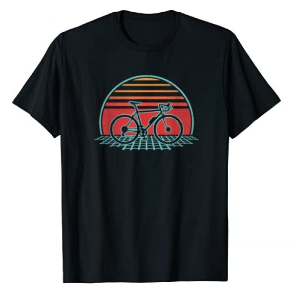 Retro Vintage Cyclist 70s 80s Sports Gift Graphic Tshirt 1 Bicycle Retro Vintage Cycling 70s 80s Style Gift T-Shirt
