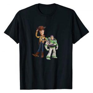 PIXAR Graphic Tshirt 1 Disney Pixar Toy Story 4 Woody and Buzz Lightyear T-Shirt