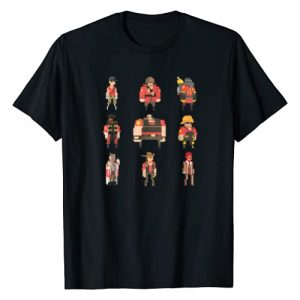 "Team Fortress 2 Graphic Tshirt 1 ""Team Fortress Pixel"" t-shirt - TRS008"