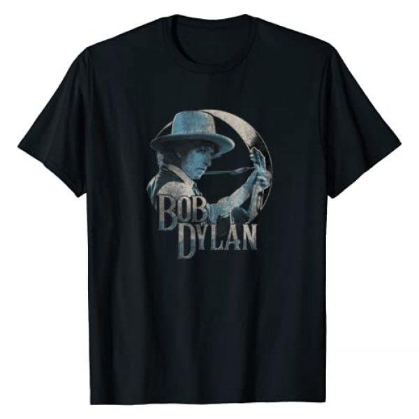 Bob Dylan Graphic Tshirt 1 Guitar 1975 T-Shirt