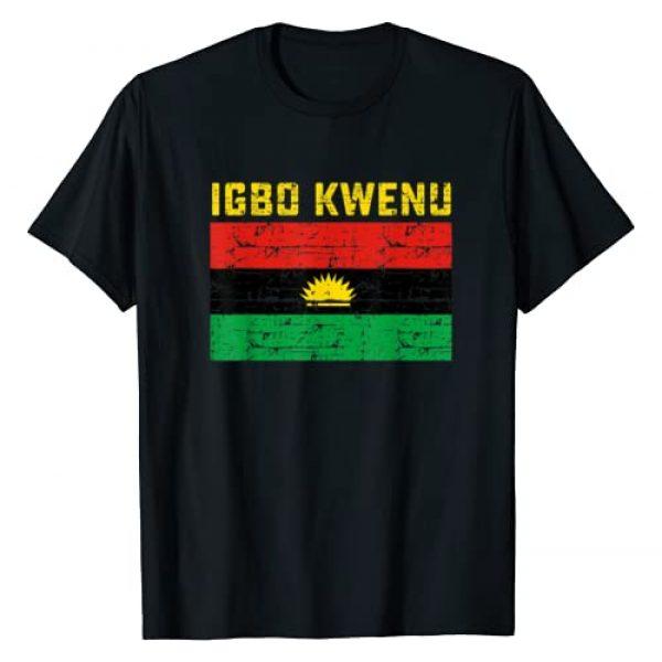 Igbo Kwenu Biafra Graphic Tshirt 1 Biafra flag tshirt
