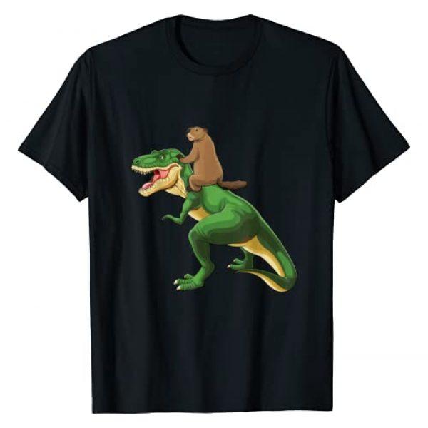 Groundhog Day Tees Co Graphic Tshirt 1 GroundHog Day Dinosaur T-Shirt Gift Shadow Men Women Kid Boy T-Shirt