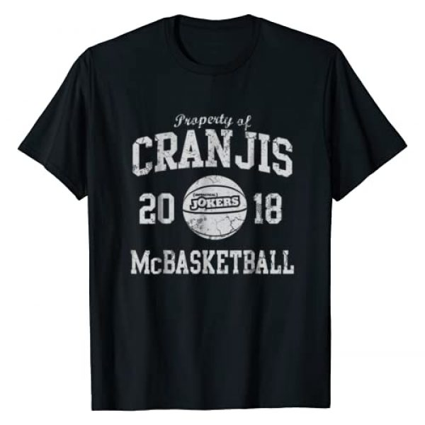 Impractical Jokers Graphic Tshirt 1 Cranjis McBasketball T-Shirt