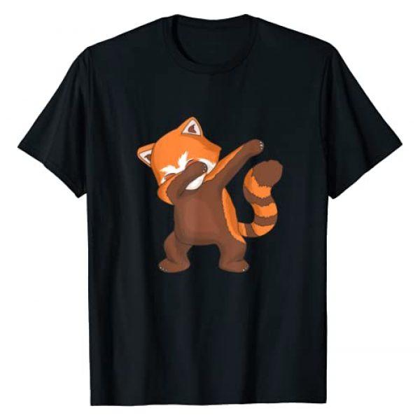 Red Panda Tshirts for Man, Women and Kids Graphic Tshirt 1 Red Panda Dabbing T-Shirt Dab for Live Tee I Panda Lovers