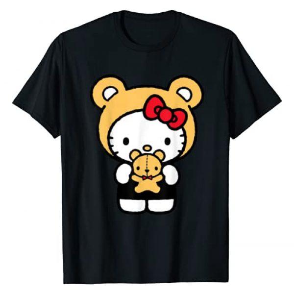 Hello Kitty Graphic Tshirt 1 Teddy Bear Dress Up T-Shirt