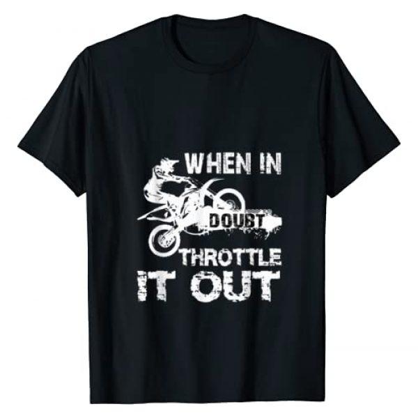 Dirt Bike Motocross Gift T-Shirt DirtBike Rider Graphic Tshirt 1 Dirt Bike MotoCross T-Shirt Biker Riding Motorcycle Gift Tee T-Shirt