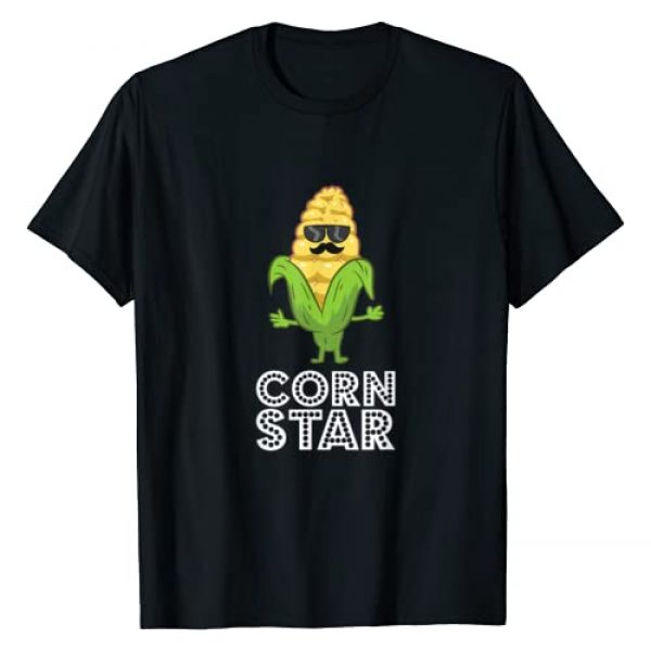 Funny Corn Gifts And Tees Graphic Tshirt 1 Funny Corn Star With Sunglasses Gift For Corn Farmer T-Shirt