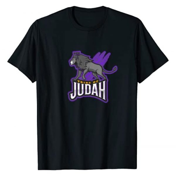 Hebrew Print Graphic Tshirt 1 Hebrew Israelite Clothing, Tribe Of Judah T-Shirt