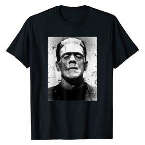 Halloween Vintage Horror Movie Poster Shirt Graphic Tshirt 1 Classic Halloween Monster Horror Movie Frankenstein Monster T-Shirt